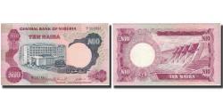 World Coins - Banknote, Nigeria, 10 Naira, Undated (1973-78), KM:17c, AU(55-58)