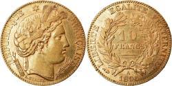 Ancient Coins - Coin, France, Cérès, 10 Francs, 1896, Paris, , Gold, KM:830