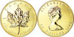 World Coins - Coin, Canada, Elizabeth II, 50 Dollars, 1986, Royal Canadian Mint, Ottawa