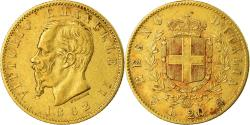Ancient Coins - Coin, Italy, Vittorio Emanuele II, 20 Lire, 1862, Torino, , Gold