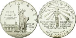 Us Coins - Coin, United States, Dollar, 1986, U.S. Mint, San Francisco, , Silver