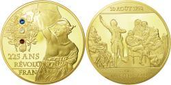 Us Coins - France, Medal, 225 Ans de la Révolution Française, La Marseillaise, MS(65-70)
