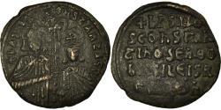 Ancient Coins - Coin, Basil I, Follis, 868-870, Constantinople, , Copper, Sear:1721