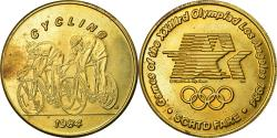 Us Coins - United States of America, Medal, Jeux Olympiques de Los Angeles, Cyclisme, 1984