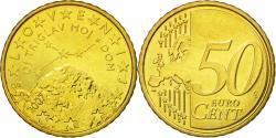 World Coins - Slovenia, 50 Euro Cent, 2007, , Brass, KM:73