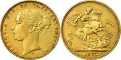 World Coins - Coin, Australia, Victoria, Sovereign, 1873, Melbourne, , Gold, KM:7