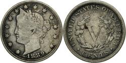 Us Coins - Coin, United States, Liberty Nickel, 5 Cents, 1889, U.S. Mint, Philadelphia