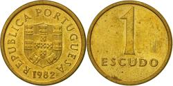 World Coins - Coin, Portugal, Escudo, 1982, , Nickel-brass, KM:614