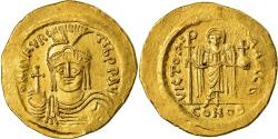 Coin, Maurice Tiberius, Solidus, Constantinople, , Gold, Sear:478