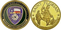 Us Coins - United States of America, Medal, Touristic token, Houston - Saint-Florian -
