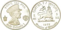 World Coins - Coin, Ethiopia, Haile Selassie, 5 Dollars, 1972, , Silver, KM:52