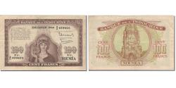 World Coins - Banknote, New Caledonia, 100 Francs, 1942, Undated (1942), KM:46b, VF(20-25)
