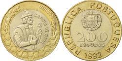 World Coins - Portugal, 200 Escudos, 1992, , Bi-Metallic, KM:655