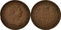World Coins - Coin, Guyana, Stiver, 1813, VF(30-35), Copper, KM:10
