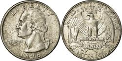 Us Coins - Coin, United States, Washington Quarter, Quarter, 1996, U.S. Mint, Philadelphia