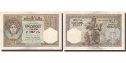 World Coins - Banknote, Serbia, 50 Dinara, 1941, 1941-08-01, KM:26, AU(55-58)