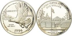 Us Coins - Coin, United States, Dollar, 1994, U.S. Mint, Philadelphia, , Silver