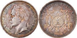 World Coins - Coin, France, Napoleon III, Napoléon III, 5 Francs, 1869, Paris,