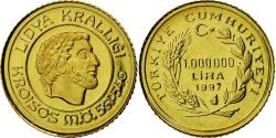 World Coins - Coin, Turkey, 1000000 Lira, 1997, Istanbul, , Gold, KM:1066