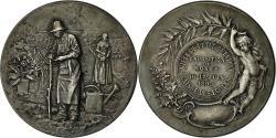 World Coins - France, Medal, Ville de Petit Quévilly, Caisse des Ecoles, 1895, Rivet