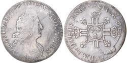 World Coins - Coin, France, Louis XIV, 1/2 Écu aux huit L, Uncertain date, Uncertain Mint