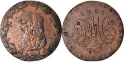World Coins - Coin, Great Britain, Anglesey, Paris Miners, Halfpenny Token, 1791,