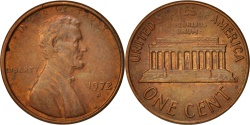 Us Coins - United States, Lincoln Cent, 1972, Denver, KM:201