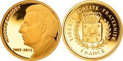 World Coins - France, Medal, Nicolas Sarkozy, Président de la République, 2007-2012