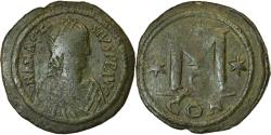 Ancient Coins - Coin, Anastasius I, Follis, 498-507, Constantinople, , Bronze, Sear:19