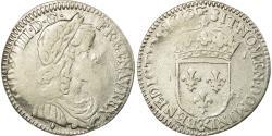 World Coins - Coin, France, Louis XIV, 1/12 Écu à la mèche longue, 1/12 ECU, 10 Sols, 1659