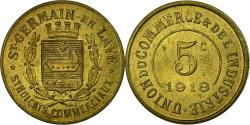 World Coins - Coin, France, Union du Commerce & de l'Industrie, Saint-Germain-en-Laye, 5