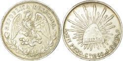 World Coins - Coin, Mexico, Peso, 1900, Culiacan, , Silver, KM:409