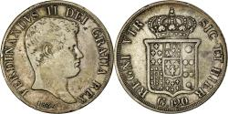 Ancient Coins - Coin, ITALIAN STATES, NAPLES, Ferdinando II, 120 Grana, 1834, , Silver
