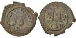 Ancient Coins - Maurice Tiberius 582-602, Follis, , Copper, 11.50