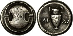 Ancient Coins - Coin, Boeotia, Stater, 395-377 BC, Thebes, , Silver, SNG Cop:314