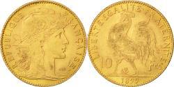 Ancient Coins - Coin, France, Marianne, 10 Francs, 1899, Paris, EF(40-45), Gold, KM:846