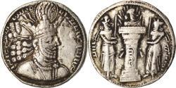 Ancient Coins - Coin, Sasanian Kings, Shapur II, Drachm, , Silver