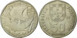 World Coins - Coin, Portugal, 50 Escudos, 1999, EF(40-45), Copper-nickel, KM:636