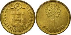 World Coins - Coin, Portugal, Escudo, 1989, , Nickel-brass, KM:631