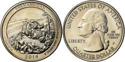 Us Coins - Coin, United States, Virginia, Quarter, 2014, Philadelphia,