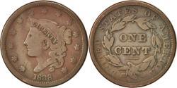 Us Coins - United States, Coronet Cent, 1838, Philadelphia, , KM:45