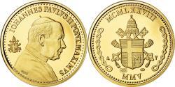 World Coins - Vatican, Medal, Le Pape Jean-Paul II, 2005, , Gold