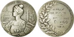 World Coins - France, Medal, Conservatoire National de Musique de Lille, 1er Prix de Piano