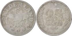 World Coins - NETHERLANDS, 25 Cents, 1941, KM #174, , Zinc, 26, 4.98