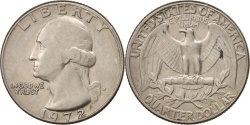 Us Coins - United States, Washington Quarter, 1972, Denver, , KM:164A
