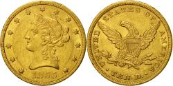 Us Coins - Coin, United States, Coronet Head, $10, 1855,Philadelphia,,Gold,KM 66.2