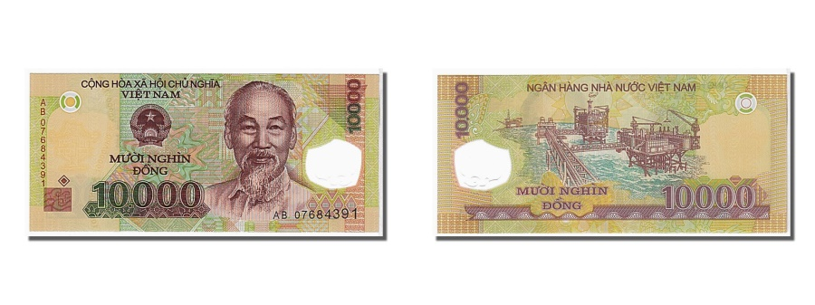 World Coins - Viet Nam, 10,000 Dng, 2006, KM #119a, UNC(65-70), AB07684391