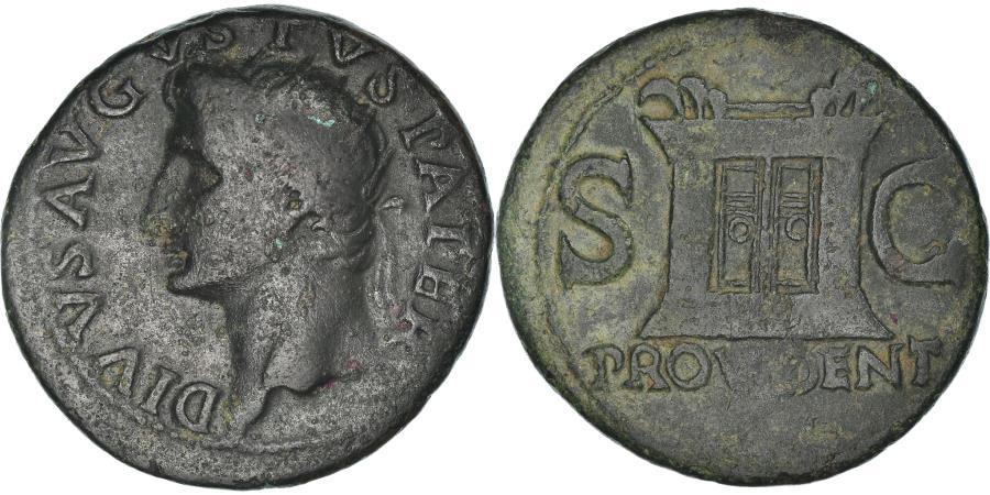 Ancient Coins - Coin, Augustus, As, 31-37, Roma, , Bronze, RIC:81