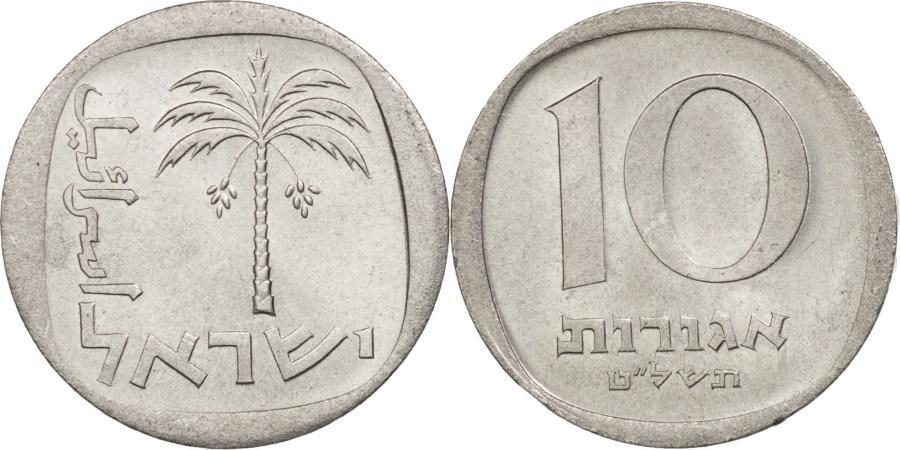 World Coins - Israel, 10 Agorot, 1979, , Aluminum, KM:26b