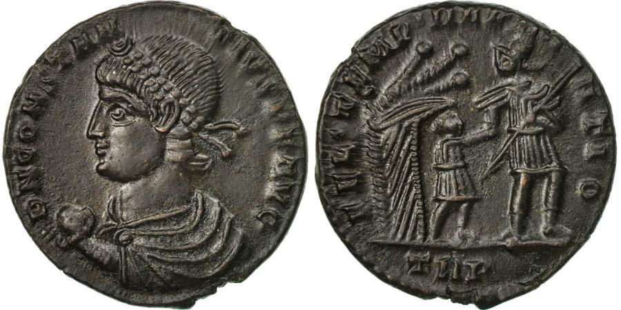 Ancient Coins - Coin, Constans, Maiorina, 348-350, Trier, , Bronze, RIC:222